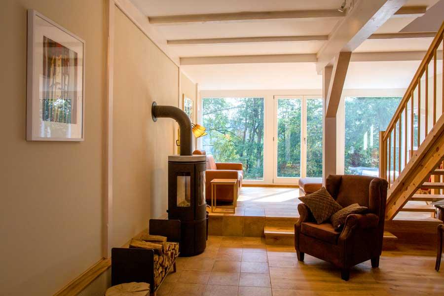 Wohnstube Fewo 2 Bärensteinbaude