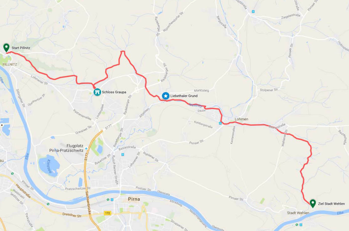 Pillnitz - Stadt Wehlen